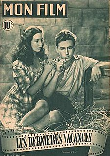 <i>The Last Vacation</i> 1948 film by Roger Leenhardt