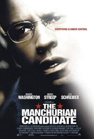 The Manchurian Candidate (2004 film) - Theatrical release poster