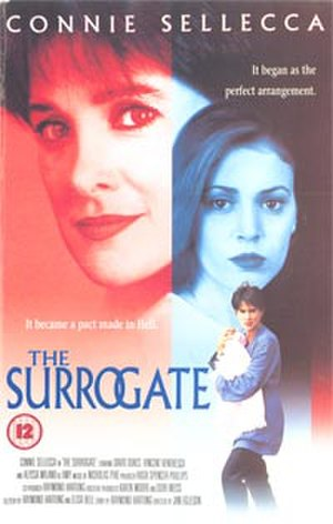 The Surrogate (1995 film) - VHS cover