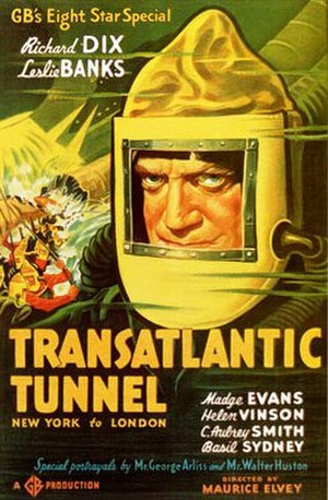 The Tunnel (1935 film) - poster for the American release