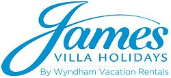 The Logo of James Villa Holidays