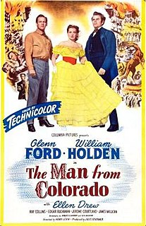 <i>The Man from Colorado</i> 1949 film by Henry Levin