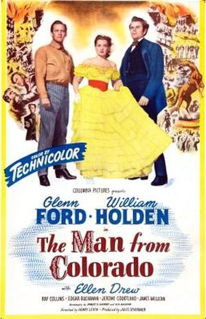 The Man from Colorado - Theatrical release poster