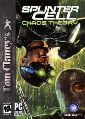 Tom Clancy's Splinter Cell: Chaos Theory - Image: Tom Clancy's Splinter Cell Chaos Theory Coverart
