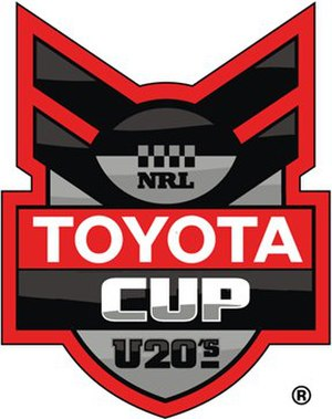 2008 National Youth Competition (rugby league) season - Image: Toyota Cup logo