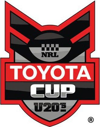 2008 NRL Under-20s season - Image: Toyota Cup logo