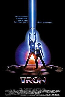 <i>Tron</i> 1982 science fiction film directed by Steven Lisberger