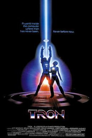 Tron - Theatrical release poster