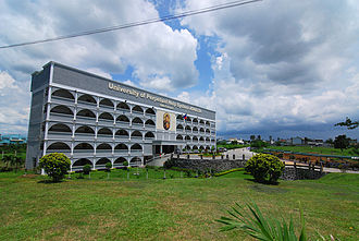 General Mariano Alvarez - The town's only university, the UPHS-GMA. Its main entrance is located along Governor's Drive.