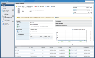 VMware ESXi Enterprise-class, type-1 hypervisor for deploying and serving virtual computers