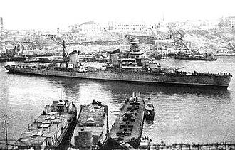 Soviet cruiser Voroshilov - Image: Voroshilov FUR