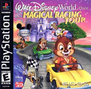 Walt Disney World Quest: Magical Racing Tour - North American PlayStation cover art