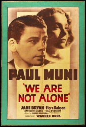 We Are Not Alone (1939 film)