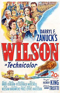<i>Wilson</i> (1944 film) 1944 biographical film directed by Henry King