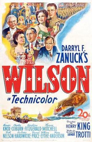 Wilson (1944 film) - Film poster