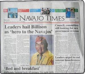 Navajo Times - Image: Window Rock Navajo Times
