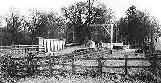 Wood Siding railway station - Image: Wood Siding station