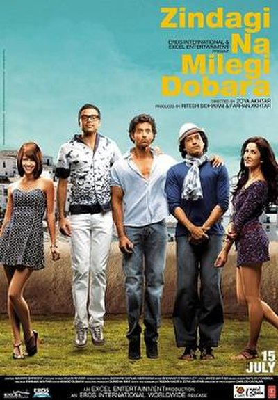 Picture of a movie: Zindagi Na Milegi Dobara