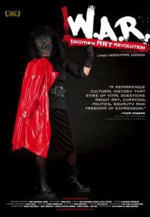 !Women Art Revolution - Image: !Women Art Revolution (documentary film) poster art