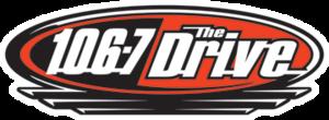 CFDV-FM - Image: 106.7 The Drive Logo