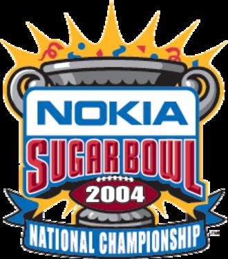 2004 Sugar Bowl - Image: 2004 Sugar Bowl logo