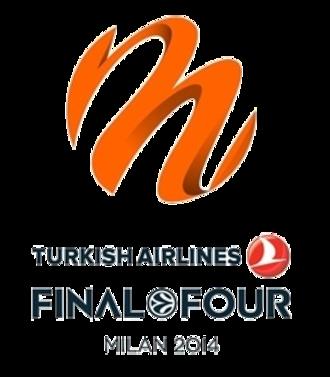 2014 Euroleague Final Four - Image: 2014 Euroleague Final Four logo