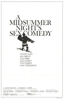 <i>A Midsummer Nights Sex Comedy</i> 1982 film by Woody Allen