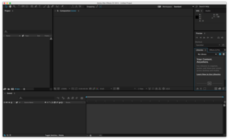 Adobe After Effects - Image: Adobe After Effects CC
