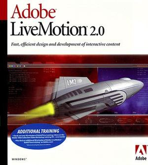 Adobe LiveMotion - LiveMotion 2.0 (the final version)