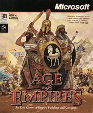 Age of Empires (video game) - Windows cover art