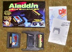 Aladdin Deck Enhancer, with Dizzy the Adventurer, cartridge for the NES by Camerica