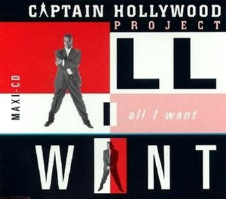 All I Want (Captain Hollywood Project song) - Image: All I want