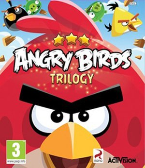 Angry Birds Trilogy - European packaging artwork