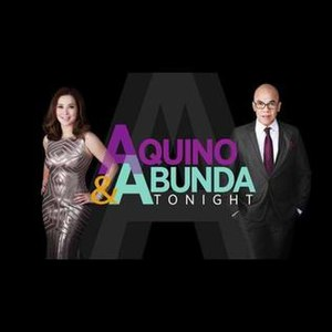 Aquino & Abunda Tonight - Image: Aquinoabundatonight