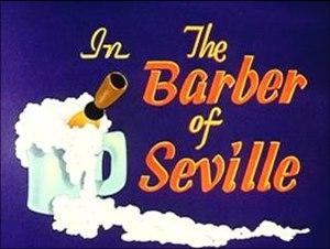 The Barber of Seville (1944 film) - Image: Barber of seville 1