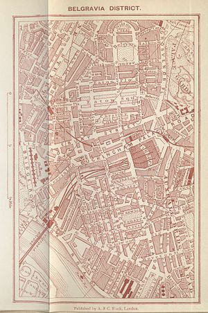 Pimlico - Belgravia and Pimlico in 1903