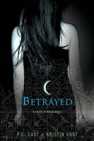 Betrayed (Cast novel) - The first edition cover of Betrayed
