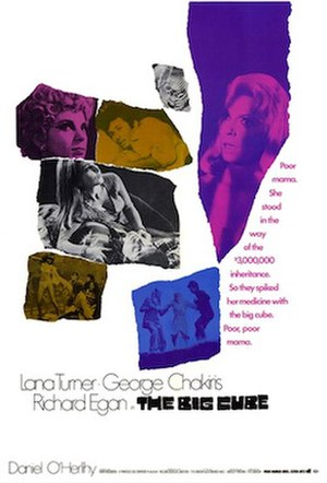 The Big Cube - Theatrical poster