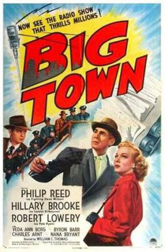 Big Town (film) - Theatrical release poster