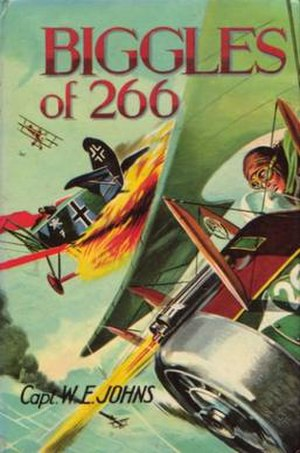 W. E. Johns - Cover of Biggles of 266