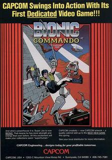<i>Bionic Commando</i> (1987 video game) video game, arcade