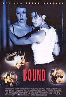 <i>Bound</i> (1996 film) 1996 American film directed by The Wachowskis