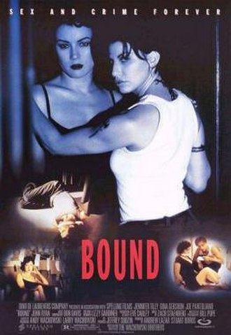 Bound (1996 film) - Theatrical release poster