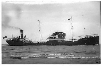 BP Shipping - British Emperor, launched in 1916