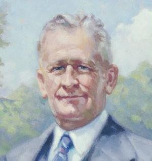C. C. Young - Young's official portrait in the state capitol.