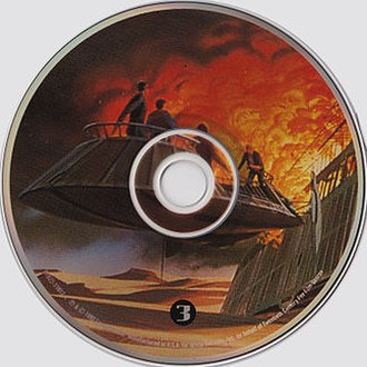 "Return of the Jedi (soundtrack) - Image: CD cover for disc 3 of the ""Star Wars Trilogy; The Original Soundtrack Anthology"" CD box set"