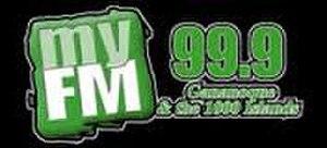 CJGM-FM - Image: CJGM My FM99.9 logo