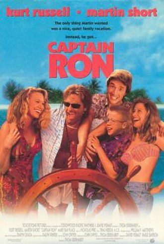 Captain Ron - Theatrical release poster