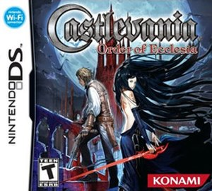 Castlevania: Order of Ecclesia - North American box art