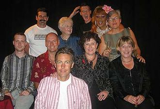 Christopher Banks - Banks (pictured left), with New Zealand Labour MPs Chris Carter, Lianne Dalziel, Judith Tizard, Maryan Street, former Governor General Dame Catherine Tizard, British Labour MP Ben Bradshaw, broadcaster Steve Gray and others at the 2005 Great Hero Debate in Auckland.
